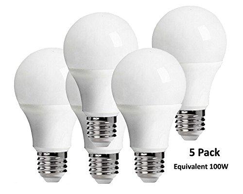5 Pack LED Bulb E27 15W Equivalent 100W 85-265V White / Warm White Lampada Ampoule Bombilla LED Lamparas Light Bulbs