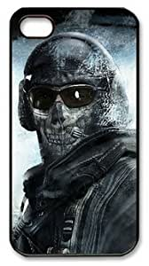 Call of Duty Modern Warfare 2 Ghost Customizable iphone 4/4s Case by LZHCASE