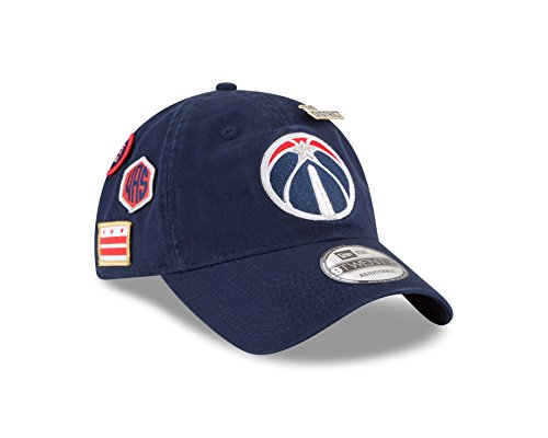 New Era Washington Wizards 2018 NBA Draft Cap 9Twenty Adjustable Dad's Hat- Navy ()