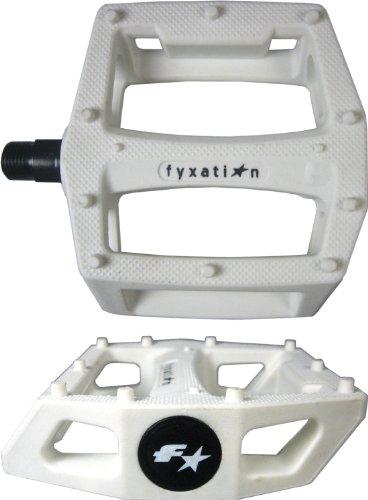 【自転車用ペダル】クロスバイク/PIST/MTB/BMX用 / FYXATION GATES PC PEDAL B005EMYVSQ White White