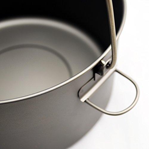 TOAKS Titanium 2000ml Pot with Bail Handle