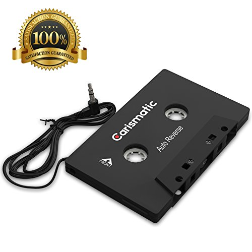 Carismatic 3.5mm Stereo Plug Universal Audio Cassette Adapter for iPhone/Android/Smartphones - Black by Carismatic (Image #5)