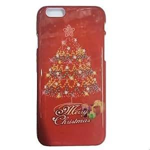 ZMY cubierta de plástico patrón de navidad especialmente diseñado para el iphone 6