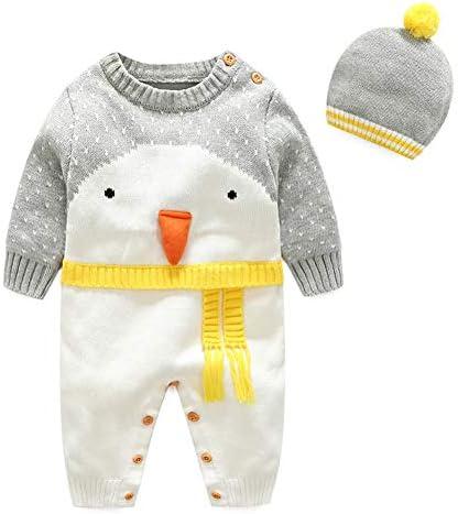 Baby Christmas Jumper Girls Boys Xmas Gift Top Sweatshirt Penguin Santa 6-24mths