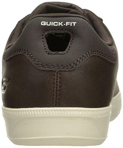 Vulc chocolat 2 Marron Skechers De Hommes Course Vont Chaussures Grandeur Les vPntZxw