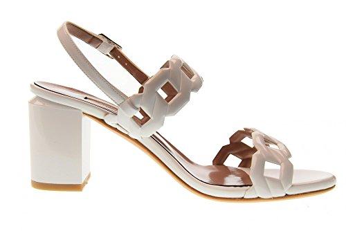 Blanco Tacón 2258 Mujer Sandalias Zapatos Alto Albano Color De zScqHwcZ