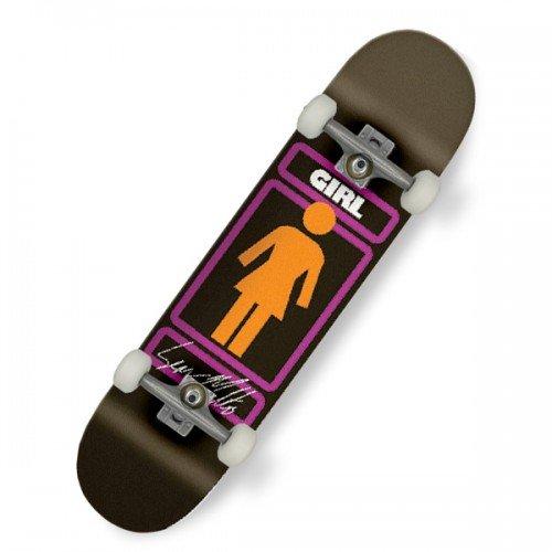 Girl Schild Hier Sean Malto 20,6cm Skateboard–