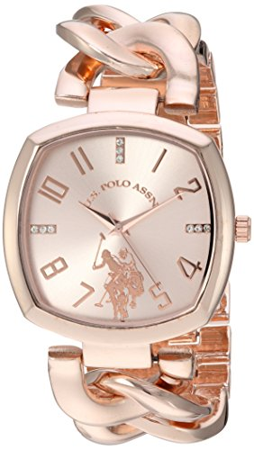 us-polo-assn-womens-quartz-metal-and-alloy-casual-watch-colorrose-gold-toned-model-usc40251az