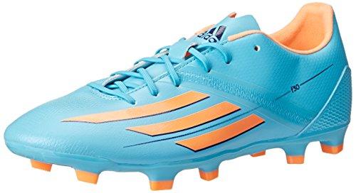 adidas Performance Women's F30 TRX Firm-Ground W Soccer Cleat, Samba Blue/Glow Orange/Collegiate Purple, 10 M US (Adidas Soccer Cleats F30)