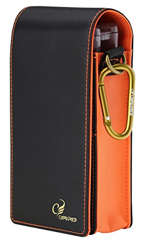 Fit Flight Case Fit Container Dart Case for Fit Flights Fit Shafts Soft Tip Points and Dart Set (Orange) by COSMO DARTS
