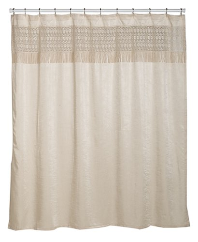 Image Unavailable Not Available For Color Croscill Macrame Shower Curtain