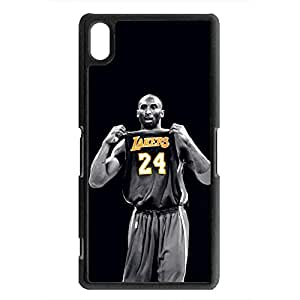Case For Sony Xperia Z2 Basketball Club Player Kobe Bryant Pattern Design Phone Case Cover New Stylish Black Hard Case For Students