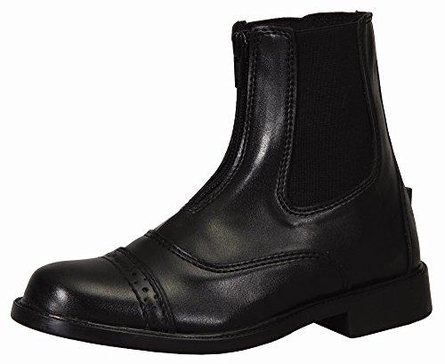 TuffRider Starter Lite Zip Paddock Ladies Boot Black MK4lr
