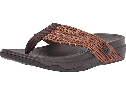 FitFlop Womens Surfa Sandal, Adult, Chocolate Brown, 7 M -