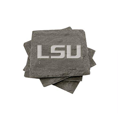 LSU Slate Coasters (set of 4)