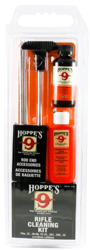 Hoppe's No. 9 Cleaning Kit with Aluminum Rod, .30-.32 Caliber, 8mm Rifle