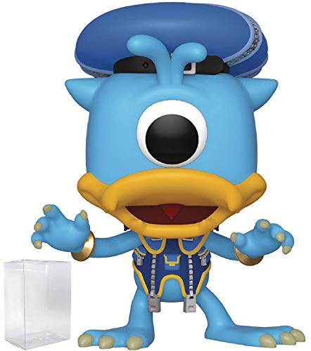 Funko Pop! Disney: Kingdom Hearts 3 - Donald Duck (Monster's Inc.) Vinyl Figure (Includes Pop Box Protector Case) ()