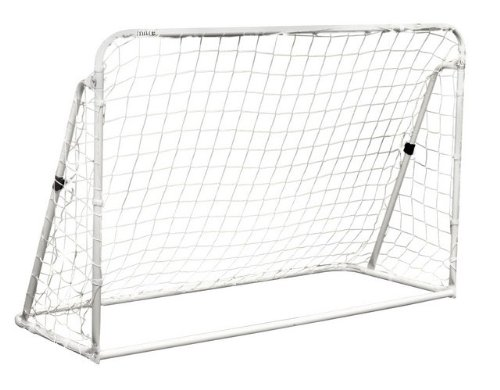 Champion Sports 3-in-1 Trainer Soccer Goal Set, White by Champion Sports