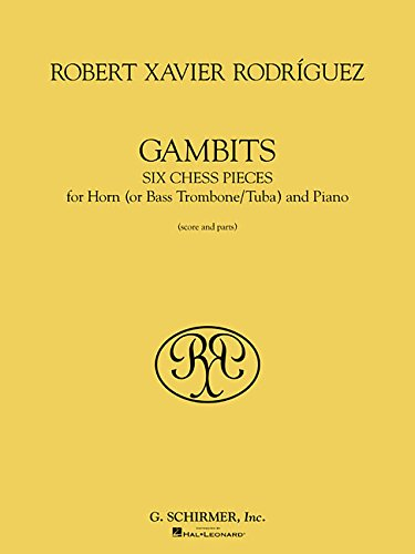 Read Online Gambits: Six Chess Pieces for Horn and Piano pdf
