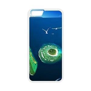 island CAD8030396 Phone Back Case Customized Art Print Design Hard Shell Protection Iphone 6