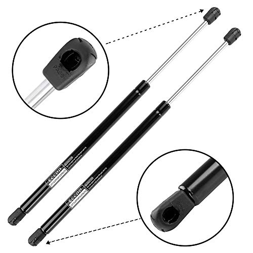 (ECCPP Lift Support Rear Glass Window Replacement Struts Gas Springs Fit for 2001 2002 2003 2004 2005 2006 Mazda Tribute Set of 2)