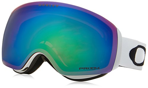 Oakley OO7064-23 Flight Deck XM Eyewear, Matte White, Prizm Jade Iridium Lens (Flight Deck Helmet)
