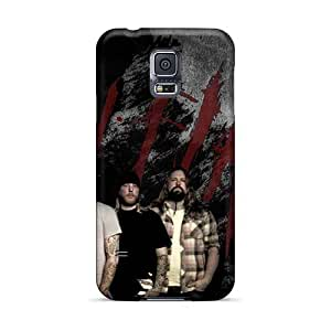 Samsung Galaxy S5 Vor10004IeII Allow Personal Design High-definition In Flames Band Pictures High Quality Hard Phone Cover -Marycase88