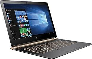 "HP Spectre 13-V011DX 13.3"" FHD IPS Laptop Intel Core i7-6500U 256GB SSD 8GB DDR3L Windows 10 - Black/Copper (Certified Refurbished)"