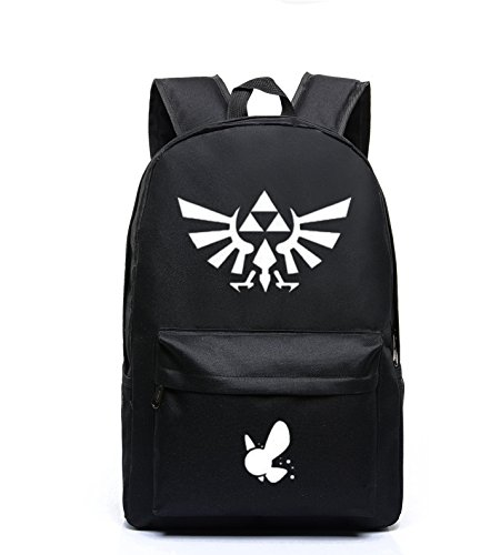 College Legends (YOYOSHome Luminous Anime The Legend of Zelda Cosplay Bookbag College Bag Daypack Backpack School Bag (5))