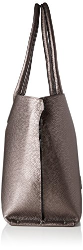 L.Credi Maxima - Shoppers y bolsos de hombro Mujer Gris (Gun)