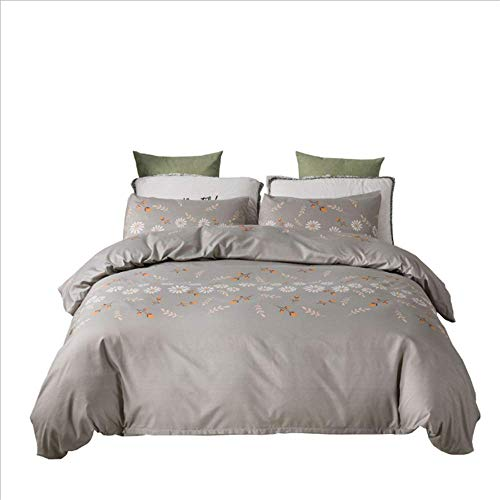 SSHHJ Polyester Duvet Cover Set Cotton Quilt Cover with Duvet Cover Queen Full Twin King E 229x229cm