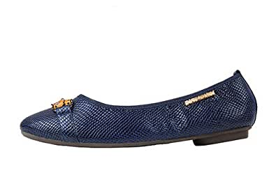 Morena Morena Blue Ballerina For Women