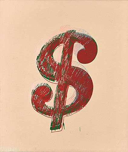 hol Giclee Art Paper Print Art Works Paintings Poster Reproduction(Dollar Sign) ()