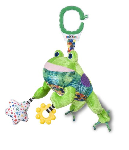 The World of Eric Carle, The Very Hungry Caterpillar On the Go Developmental Plush Frog with Sound, 14