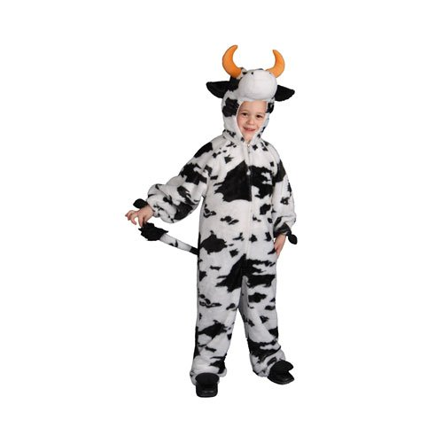 Dress Up America Plush Cow - Toddler T4 Cow Farm Animal Costume