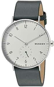 Skagen Men's SKW6466 Skagen Aaren Green Analogue Wrist Watch, Green, Small