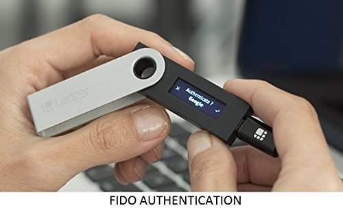 Large Product Image of Ledger Nano S Cryptocurrency Hardware Wallet - Silver