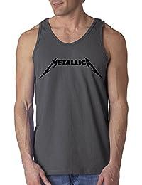 778 - Men's Tank-Top Metallica Beavis Butt-Head Parody Logo