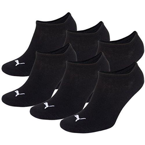 PUMA Unisex Sneakers Socken Sportsocken 6er Pack black / black 200 - 35/38