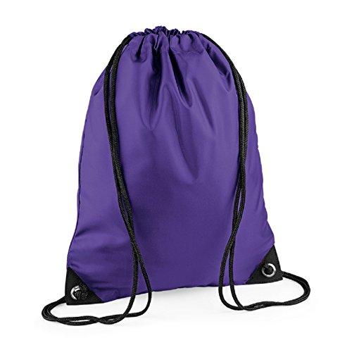 Colours Retro Bagbase Unisex Shoulder Pocket Zipped Strap Bag Purple TBfq6xq