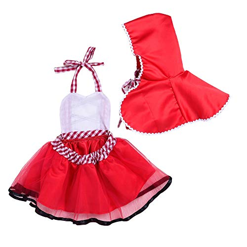 Newborn Baby Girls Little Red Riding Hood Halloween Costumes Cosplay Outfit Cloak Fairy Tale Fancy D - http://coolthings.us