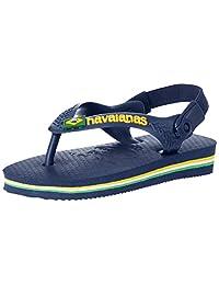 Havaianas Baby Brasil Logo Slingback Strap