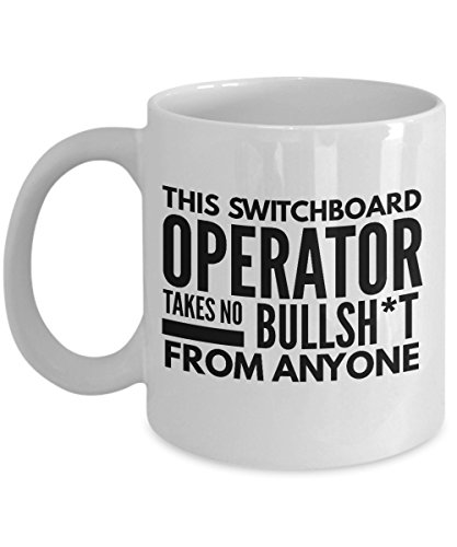 This Switchboard Operator Takes No Bullsht From Anyone Coffee Mug