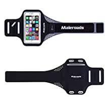 """For iPhone 6 6S Plus Armband Sports Arm Bag for Huawei P8 P9 Honor 7 Exercise Running Walking Waterproof Sweat Proof Cellphone Arm Pouch Soft Wrist Strap for Samsung Note5 S7 Xiaomi 5 Also Fit Other Cellphone Screen Size (5.1""""-5.7"""")"""