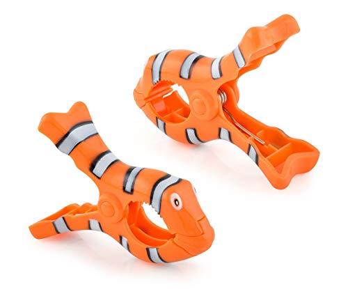 O2COOL BocaClip - Clown fish Clip, 1-Pack,
