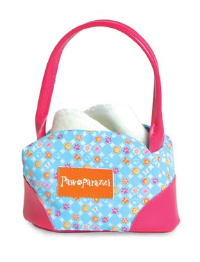 Pawaparazzi Fashion Pet Carrier - Blue Circles (Pawparazzi Purse)