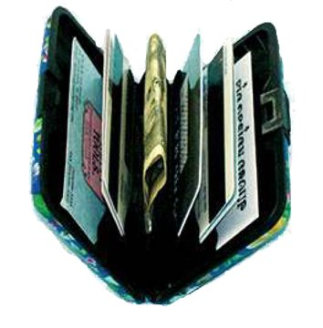RFID Secure Armored Wallet - Fine Art 1, Starry Night by Fig Design Group (Image #1)