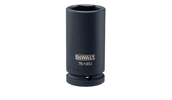 DEWALT DWMT75135OSP 3//4 Drive Deep Impact Socket 1-3//16 SAE DWMT75135B