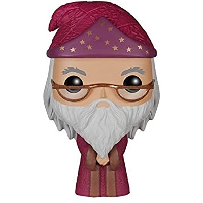 Funko POP Movies: Harry Potter Albus Dumbledore Action Figure, Standard Packaging: Funko Pop! Movies:: Toys & Games