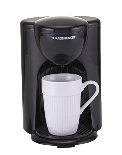 Black & Decker DCM25 1 Cup Coffee Maker, Black, 220V (Not for ()